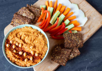 veganer, pikanter Hummus Rezept