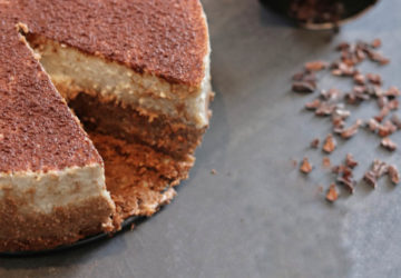 Veganes Dessert Tiramisu mit Schoko- und Vanillecreme Rezept