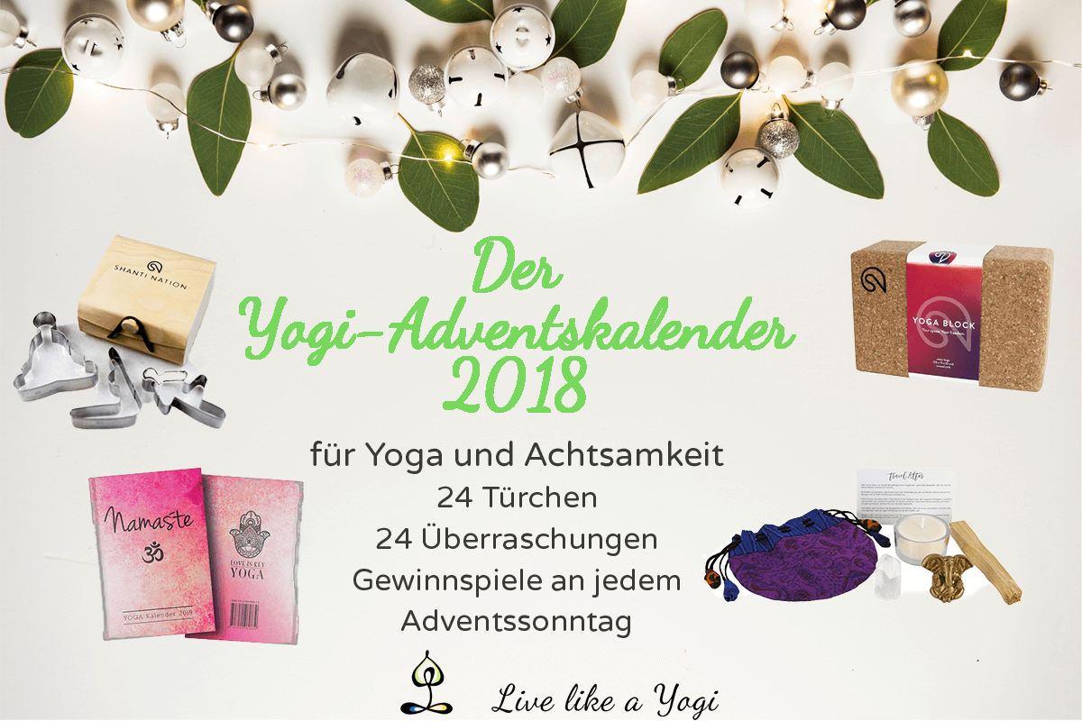 Live Like A Yogi-Adventskalender Yoga Achtsamkeit