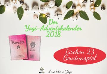 Live Like A Yogi-Adventskalender Türchen #23 Gewinnspiel LOVE IS KEY YOGA