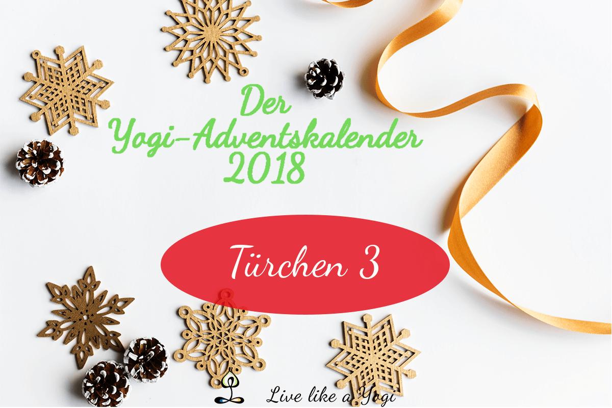 Live Like A Yogi Adventskalender Türchen 3 Geschenke für Yogis