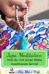 Japa Meditation – Wie du mit einer Mala meditieren lernst